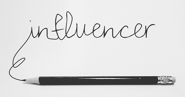 Influencers' activity and competition law